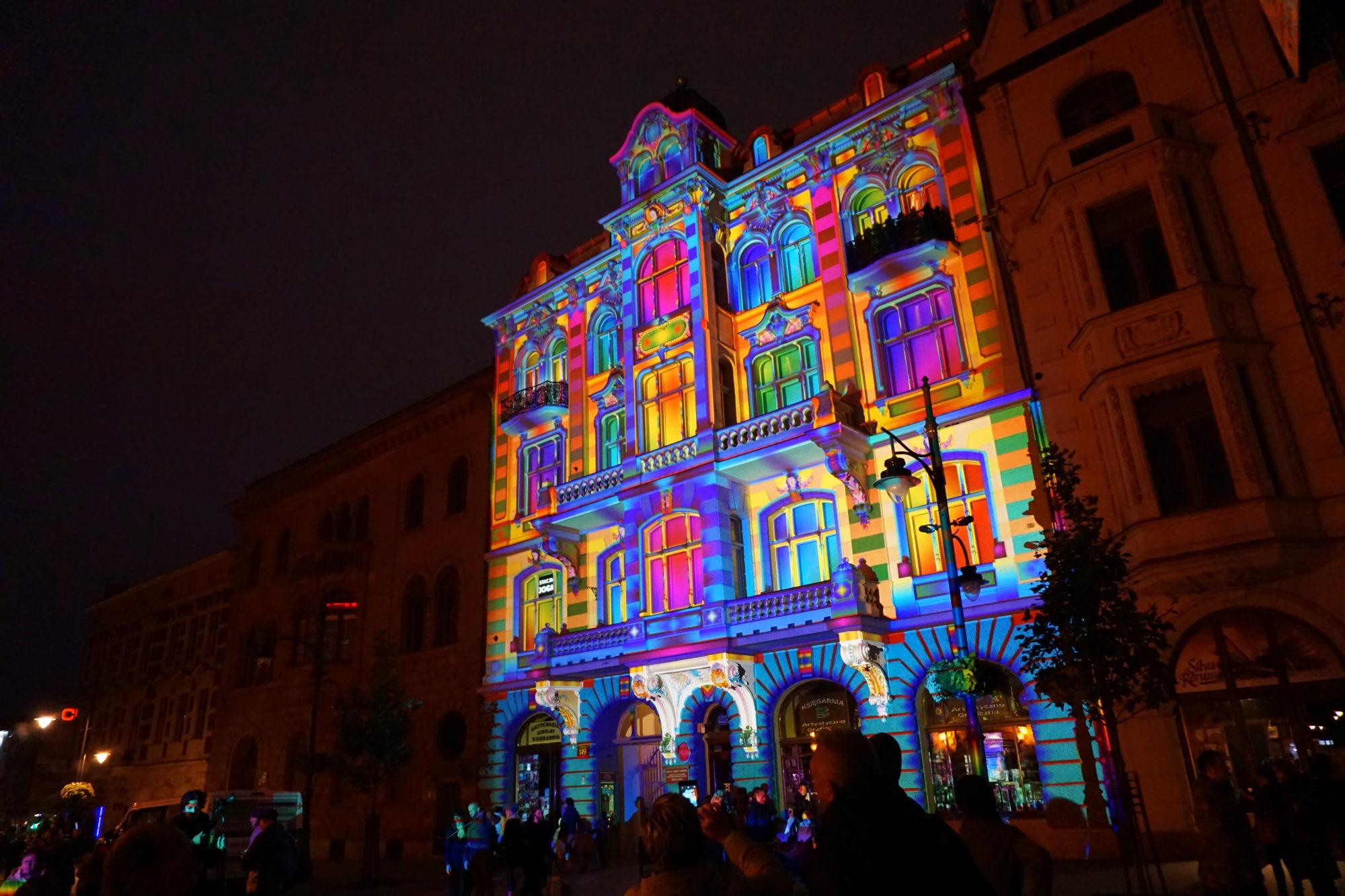 Festiwal Światła Łódź 01