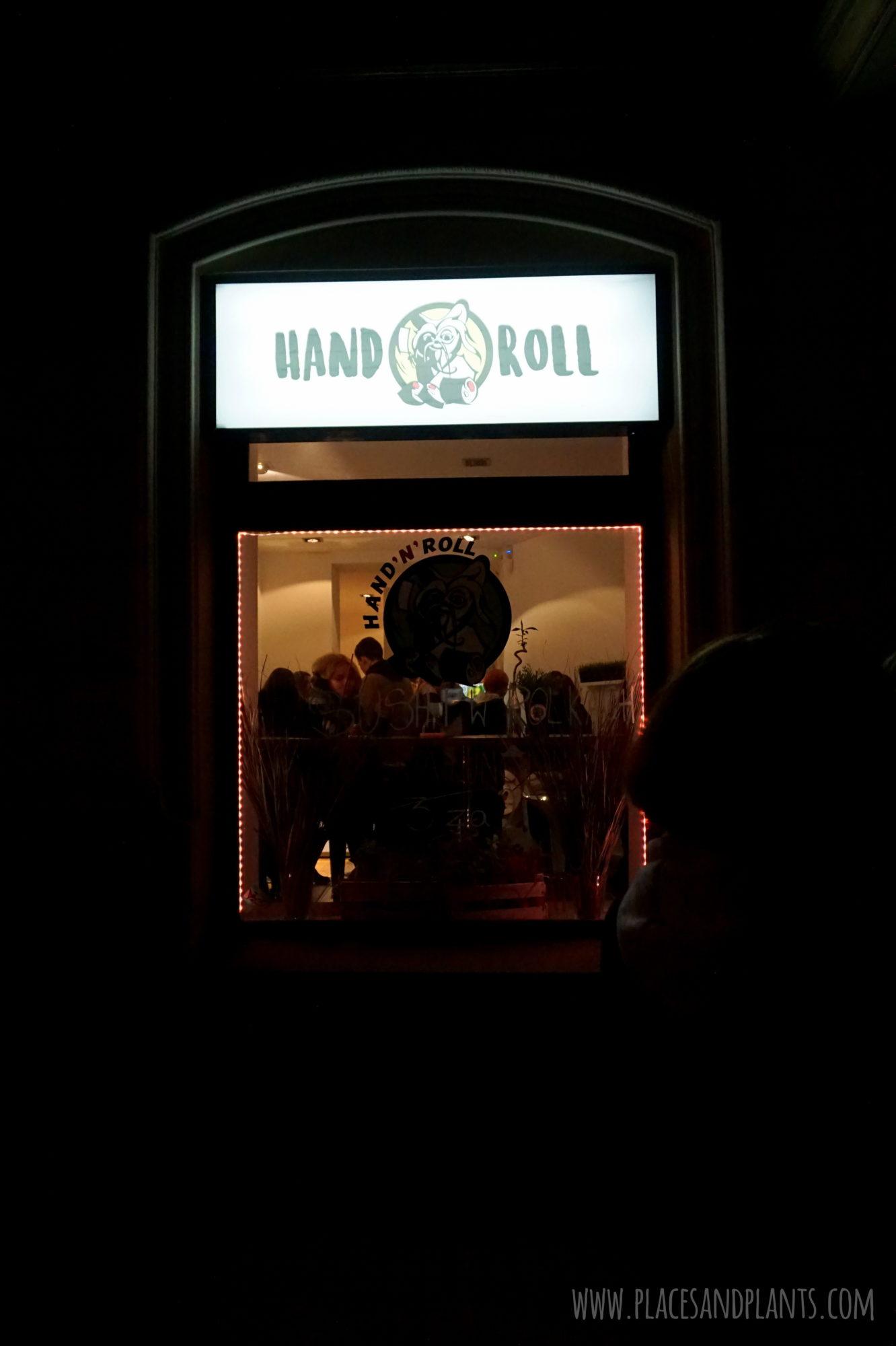 Hand n' Roll wegańskie rolki