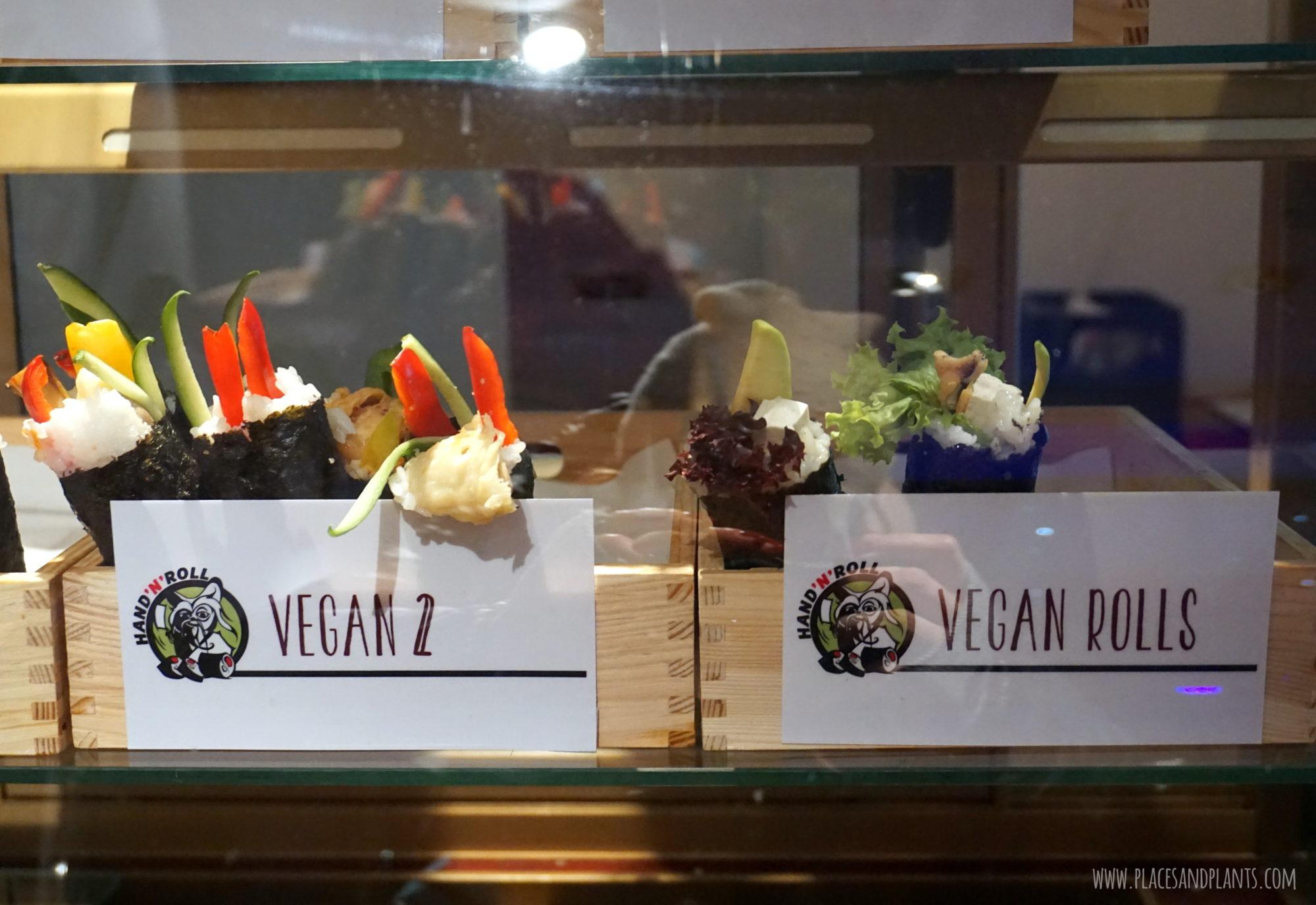 Hand n' Roll wegańskie rolki sushi