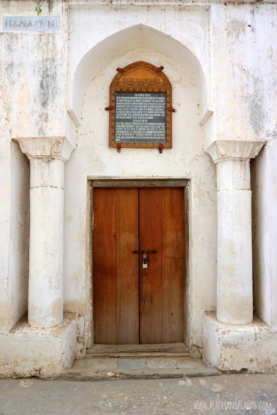 Stone Town Zanzibar łaźnie