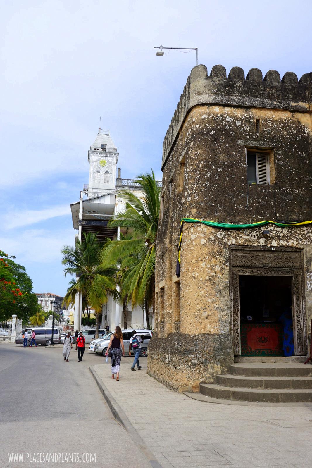 Zanzibar Stone Town Stary Fort