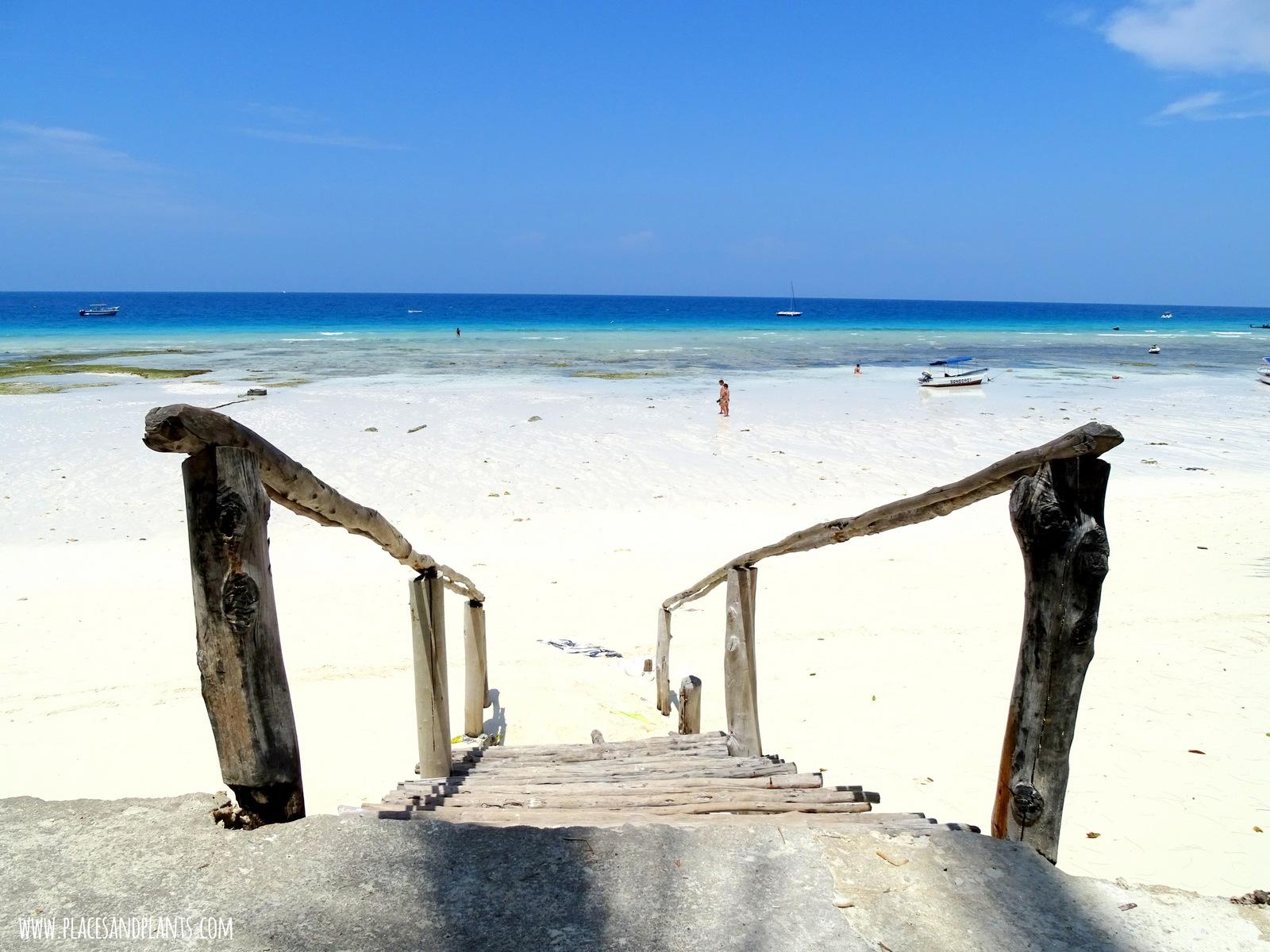 Zanzibar plaże