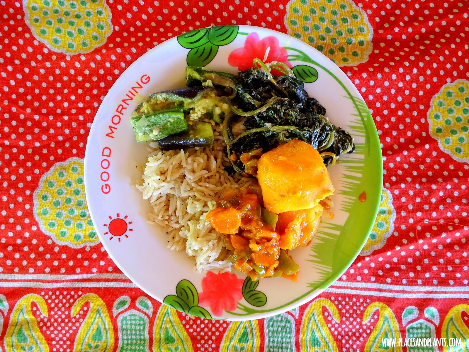 Zanzibar jedzenie