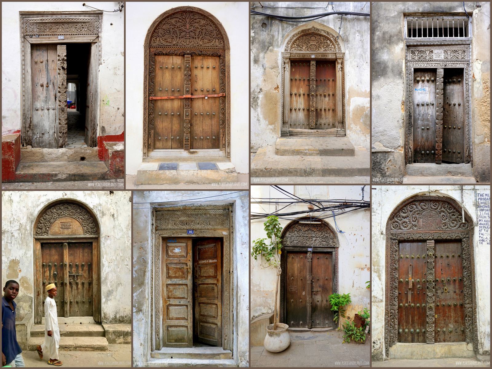 ZANZIBAR STONE TOWN drzwi