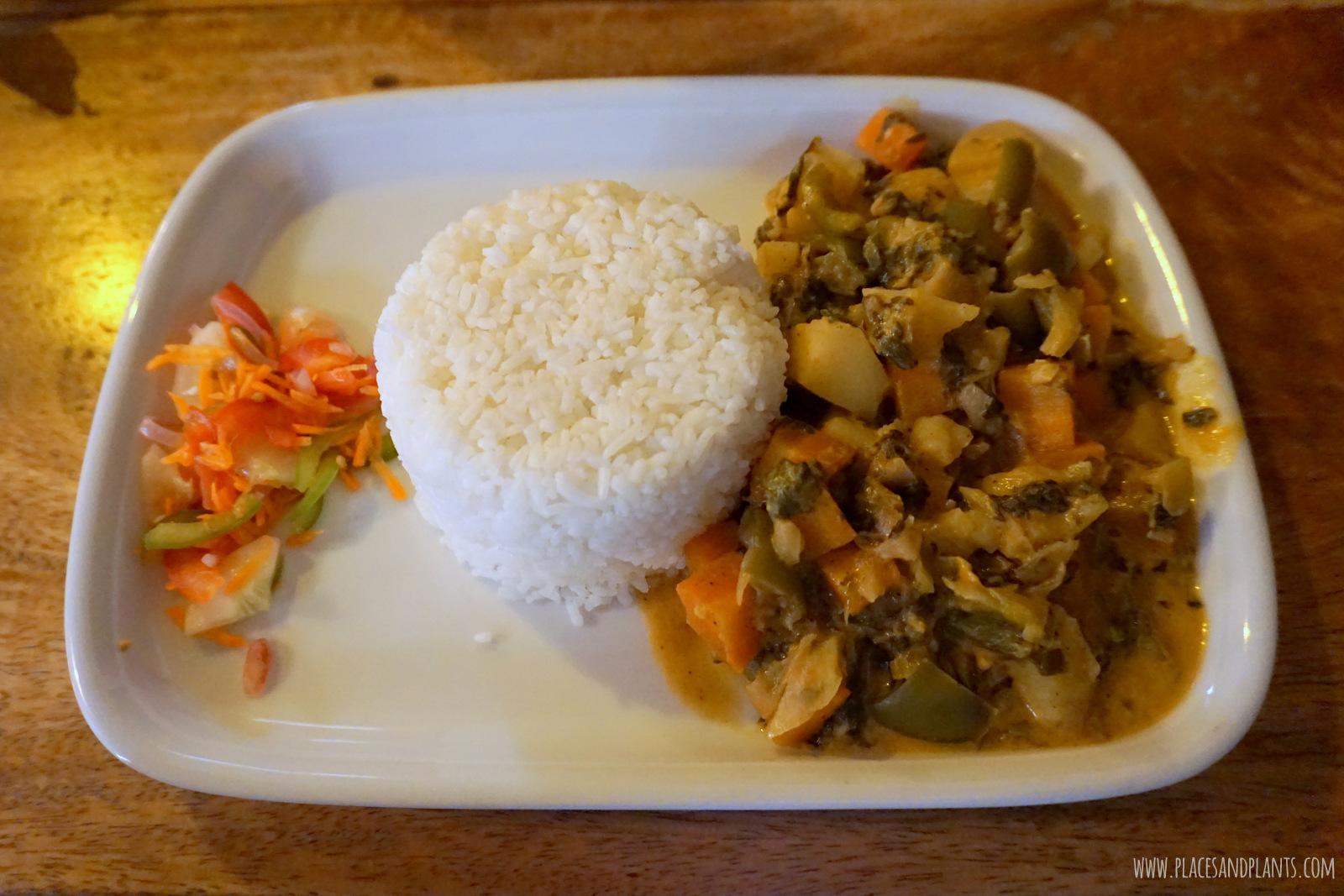 wegański Zanzibar curry