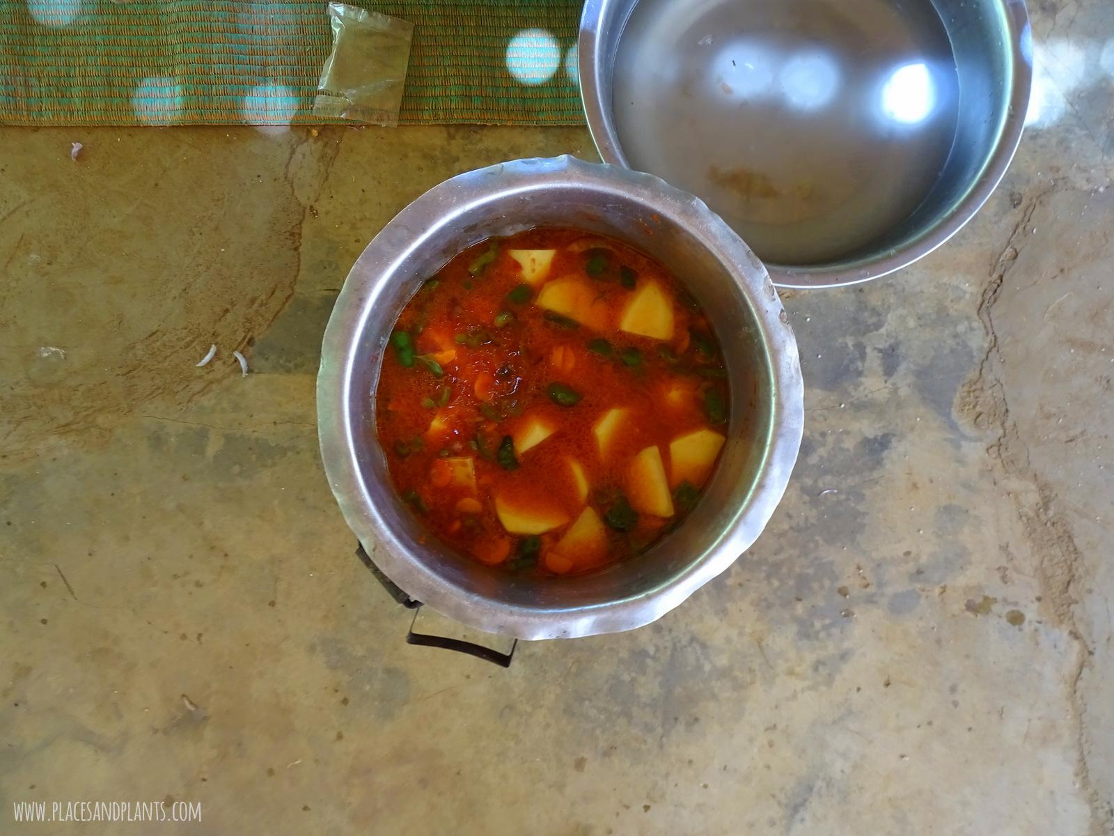 wegański Zanzibar Tangawizi Bistro lekcja gotowania