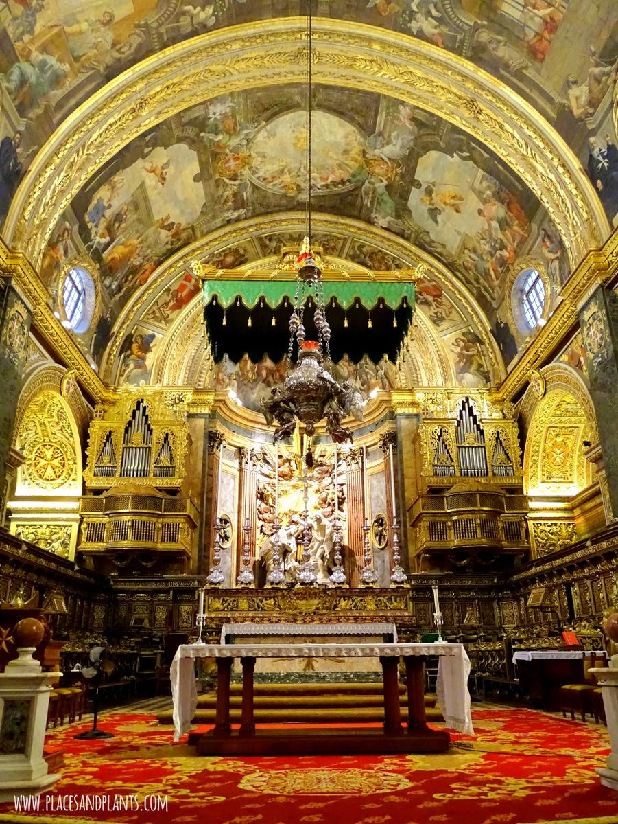 Miejsca na Malcie Konkatedra Jana Chrzciciela