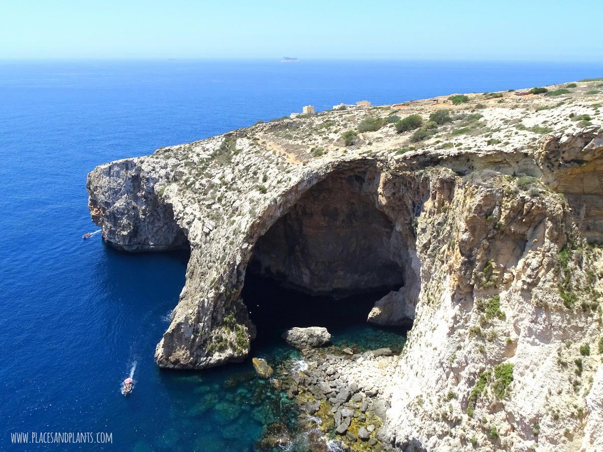Miejsca na Malcie Błękitna Grota