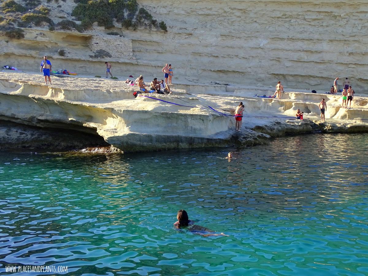 Miejsca na Malcie St Peters Pool