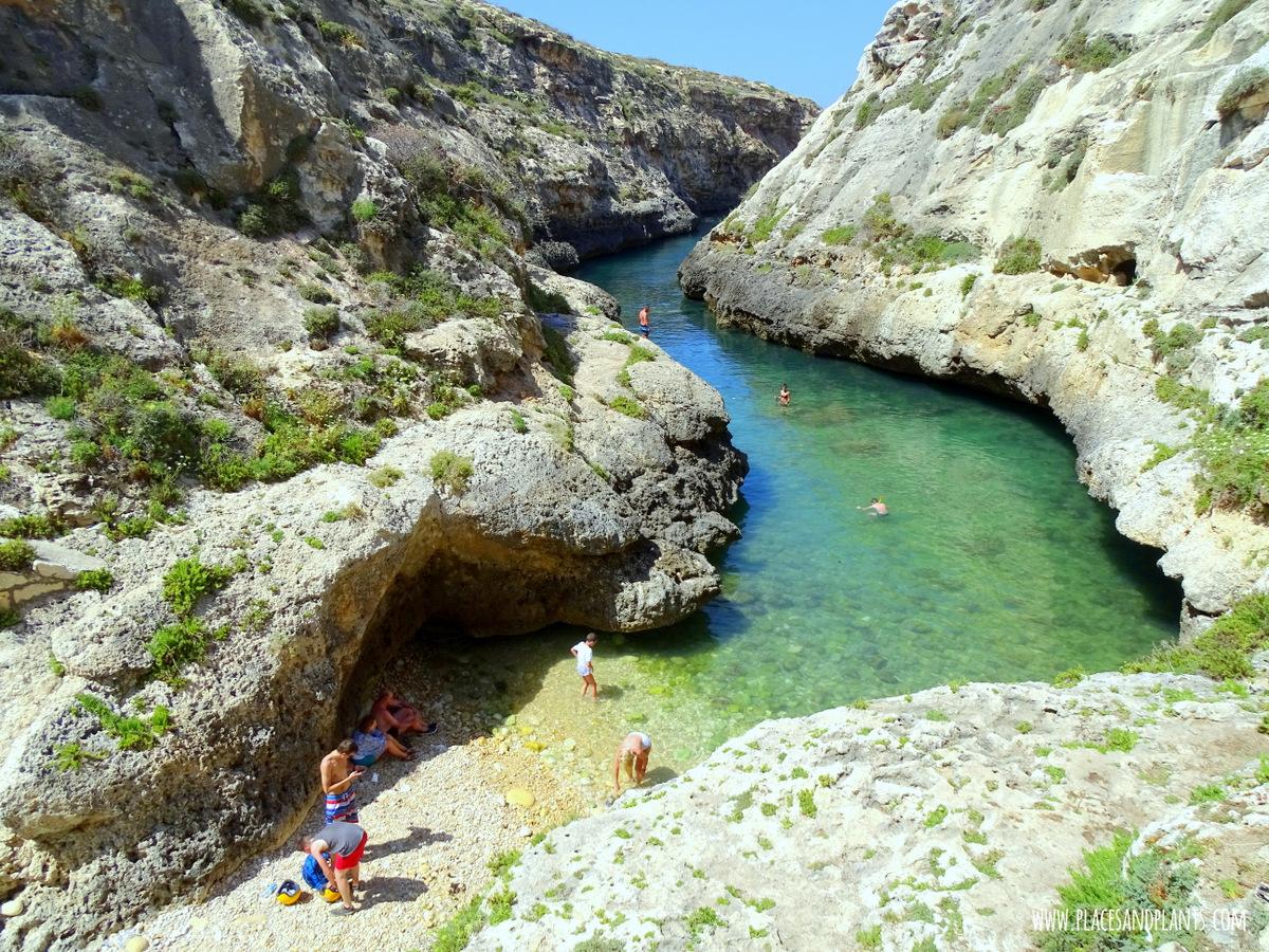 Miejsca na Gozo Wied Il Gashri